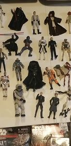 Star Wars Other - Star wars figures some new in box.